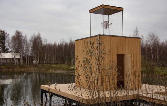 «Дом с люстрой» от Бюро Хвоя, арт-парк Никола-Ленивец