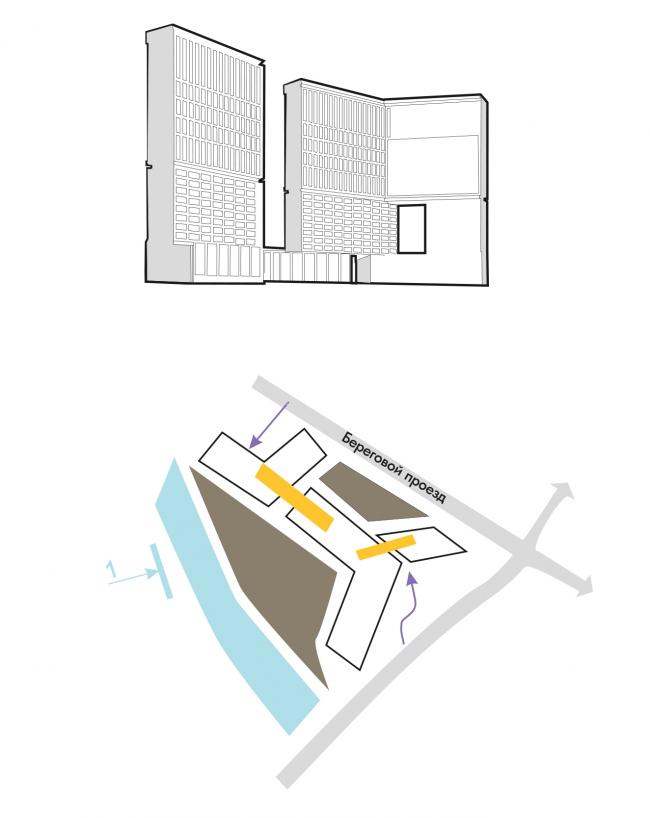 Жилой комплекс на Береговом проезде