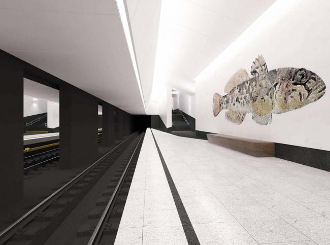 Станция метро «Нагатинский затон»
