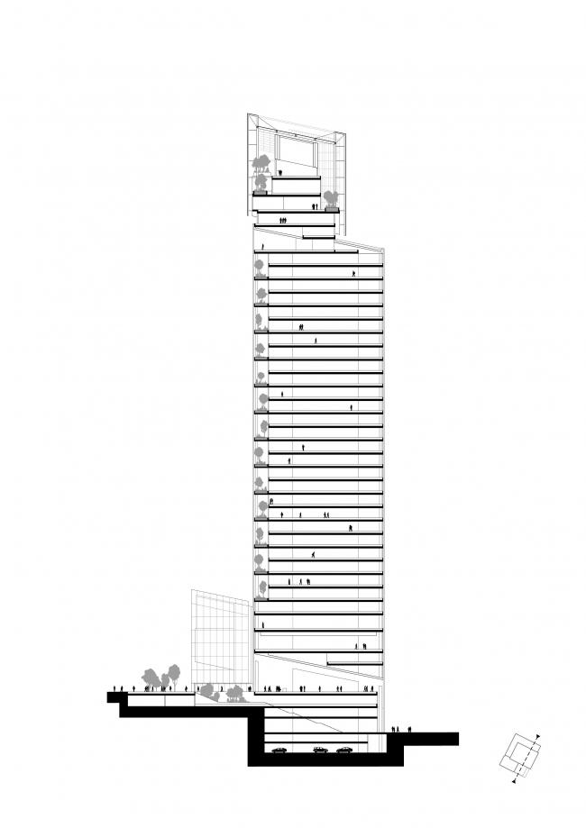 Башня Saint-Gobain