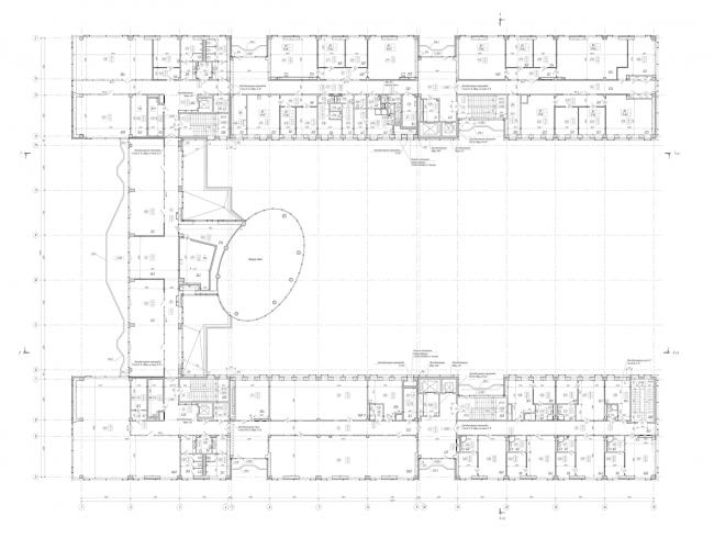 План 2-го этажа. Научно-технический центр ПАО «Татнефть»