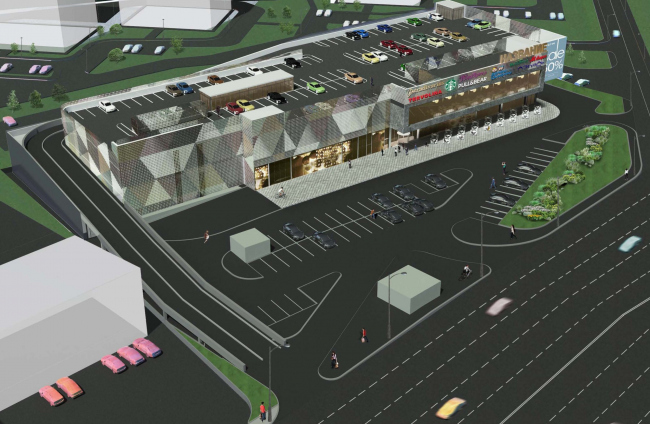Торговый центр в Сосенском