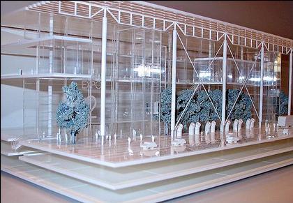 Ричард Роджерс. Проект реконструкции Когресс-центра Джекоба К. Джэвица. 2006. Макет