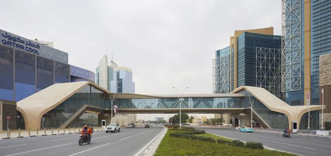 Метрополитен в Дохе. Станция «Уэст Бэй»