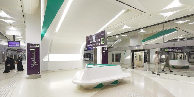 Метрополитен в Дохе. Станция «Национальная библиотека Катара»
