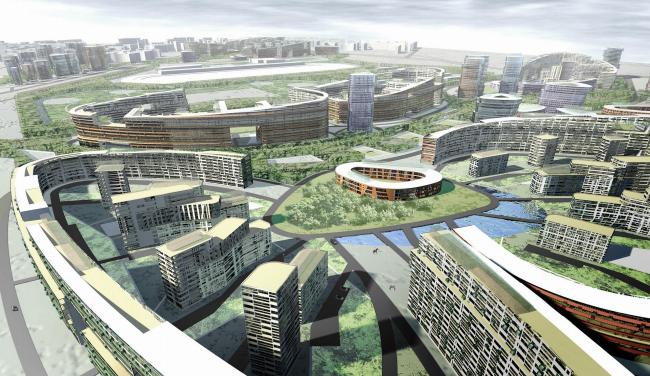 Жилой комплекс «Седьмое небо» в г.Казани © Архитектурное бюро Асадова