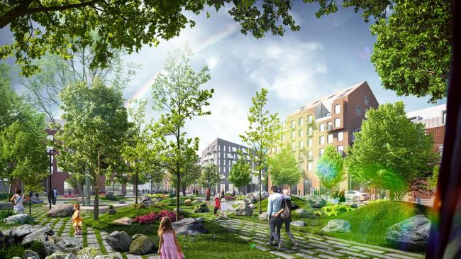 Сквер «Сад камней». Разработка архитектурно-градостроительной концепции развития городского округа «Город Южно-Сахалинск»