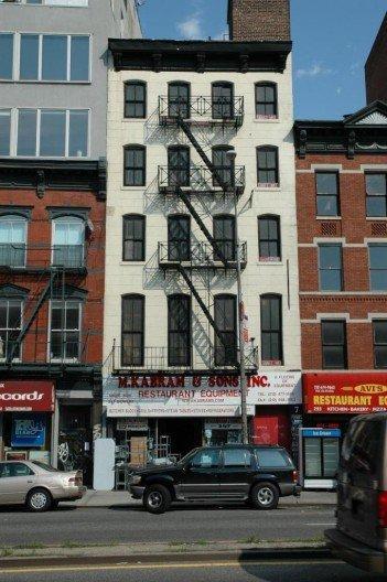 Дом по адресу 257 Бауэри. Современный вид