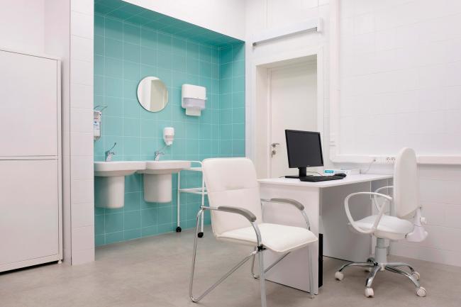 Медицинские кабинеты. Рестайлинг медицинских офисов «Инвитро»