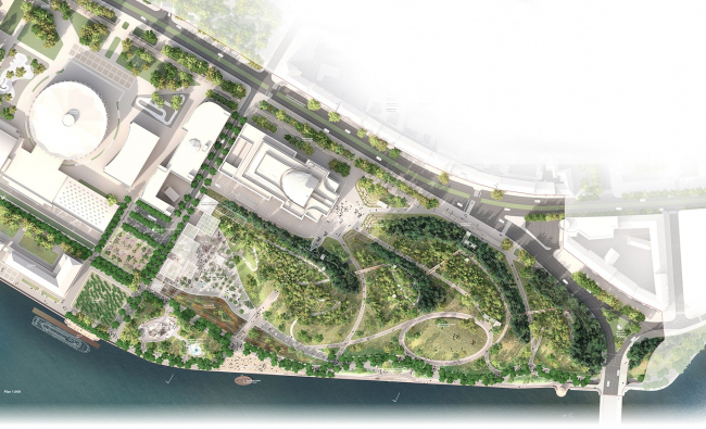 "Romantic park ""Tuchkov Buyan"". The master plan"