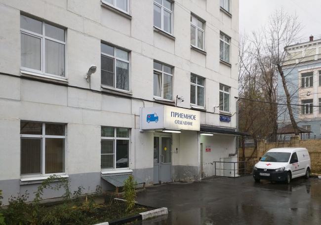 Корпус 4, вид до реконструкции. Городская клиническая больница №23 им. И.В. Давыдовского
