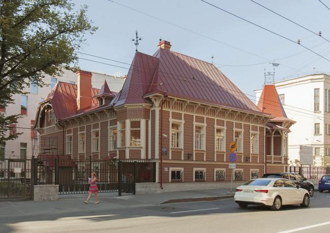 Концепция сохранения ОКН-памятников деревянной архитектуры Санкт-Петербурга