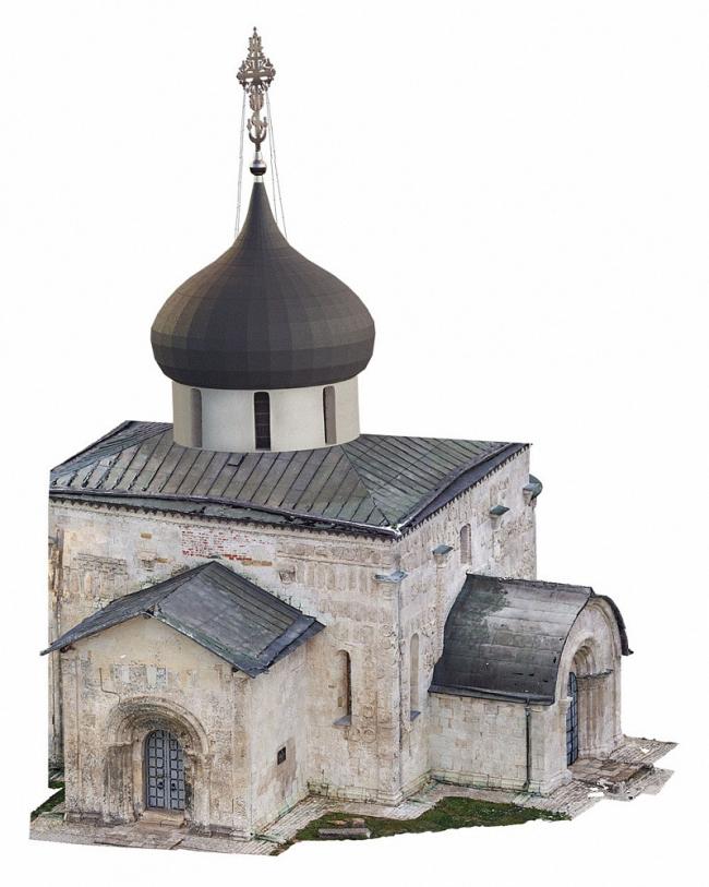 Проект реставрации, консервации и приспособления Георгиевского собора, 1234 г., в г. Юрьев-Польский