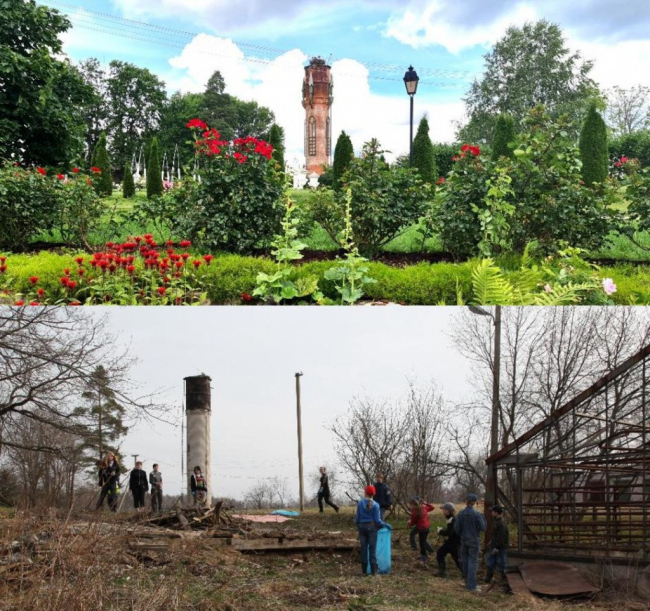 Использование исторического ландшафта на примере Усадьбы Марьино
