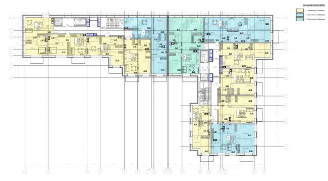 План 2-го этажа. Жилой дом на Заставской