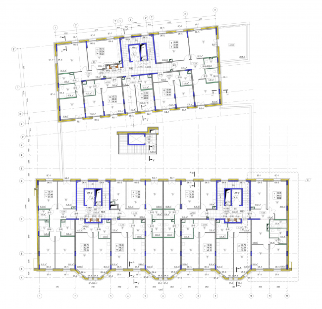 План 2-го этажа. ЖК Veren Place