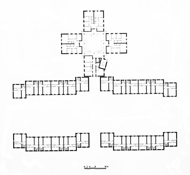 План 3-го этажа. Кондоминиум в Купчино