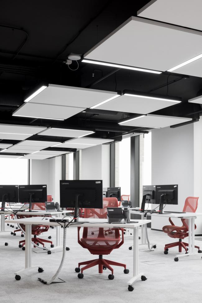 Интерьеры офиса департамента «Дирекция цифровой трансформации»»