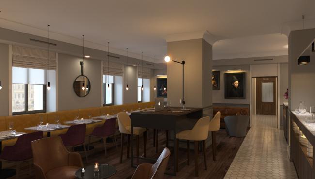 Бутик-отель на на 1-й Брестской