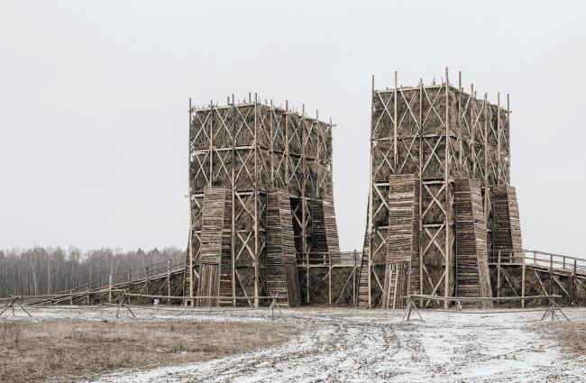 Сожженный мост в деревне Никола-Ленивец Петр Советников, Вера Степанская. KATARSISab