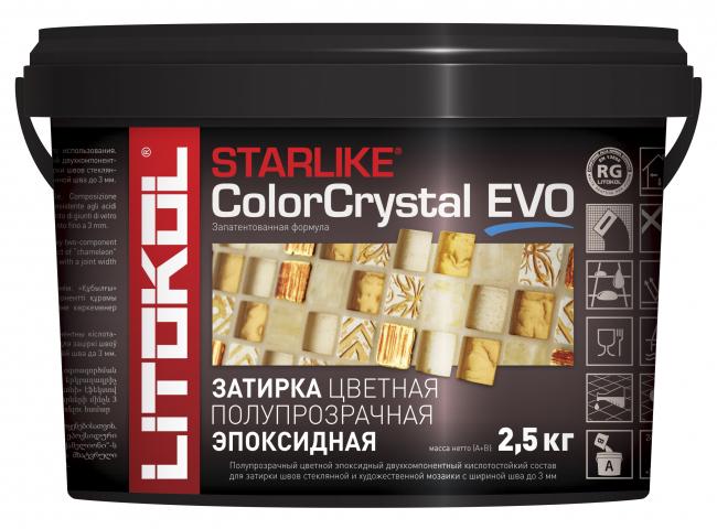 Затирочный состав Starlike Color Crystal EVO