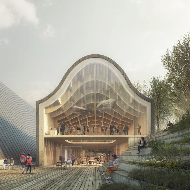Музей корабля «Фрам» – новое крыло