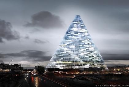 Башня Triangle в Париже. Проект