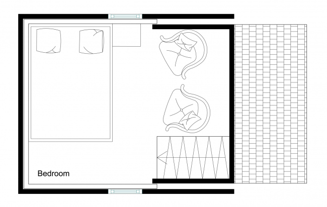 План 2 этажа. Brette 20 (Brette A22)