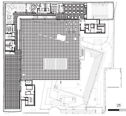 Детский Музей Бруклина. План третьего этажа
