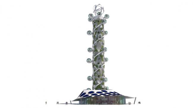 Проект «Спиральная башня»