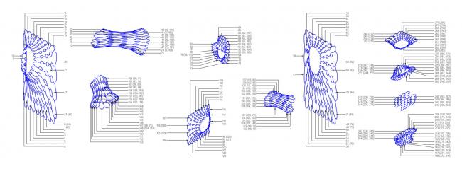 Схема сборки структуры. Шоурум Crane Design