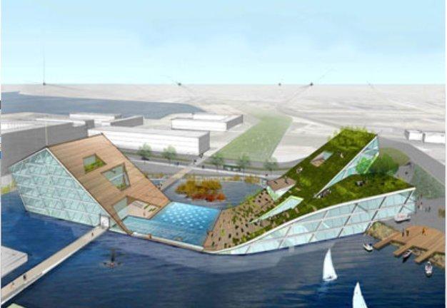 Проект школы для Копенгагена