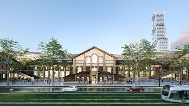 © 2020 Nieto Sobejano Arquitectos &  Marin + Trottin Périphériques architectes