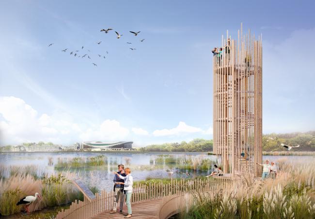 Парк «Русско-Немецкая Швейцария». Стратегия развития прибрежных территории реки Казанки 2020–2030