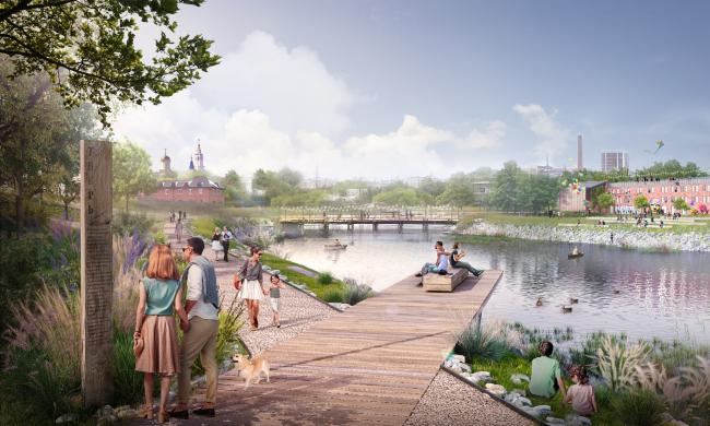 Парк «Старая Казанка». Стратегия развития прибрежных территории реки Казанки 2020–2030