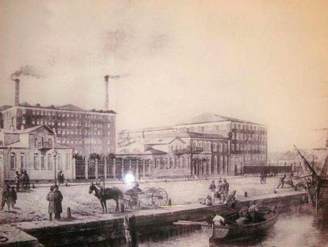 Невская бумагопрядильная фабрика барона Людвига Штиглица. ЖК на Синопской набережной