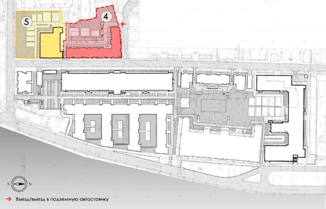 Участок ограниченный улицей Моисеенко, улицей  Красного Текстильщика и улицей Кирочной. ЖК на Синопской набережной