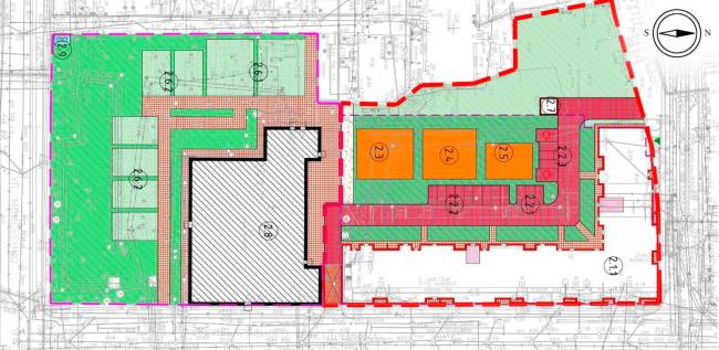 4. Жилой дом со встроенными  коммерческими помещениями и подземной  автостоянкой. ЖК на Синопской набережной
