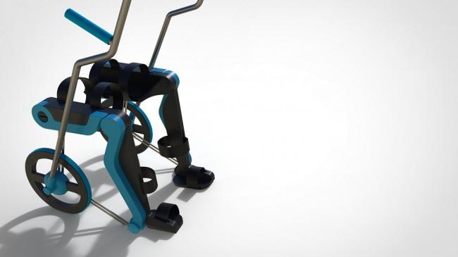 Конкурсный проект «Кресло-коляска с внедрённым экзоскелетом «Flow»