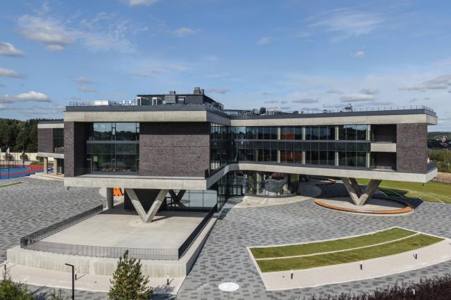 Школа Wunderpark/ ARCHSTRUKTURA