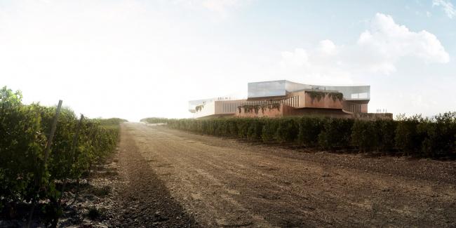Винодельня «Скалистый берег», проект