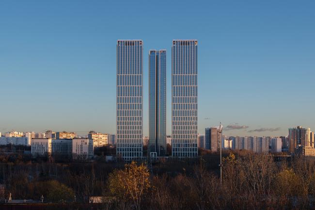 ЖК «Небо», вид с севера, со стороны проспекта Генерала Дорохова