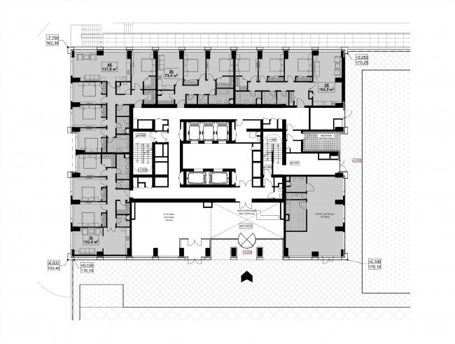 1 этаж. Корпус 2