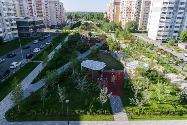 Бульвар «Белые Цветы» в Казани