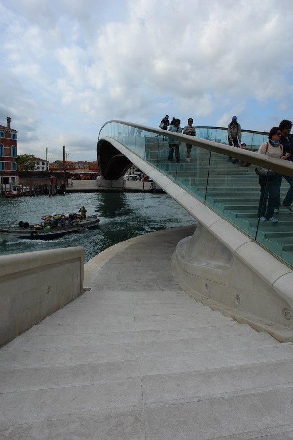 Сантьяго Калатрава. Мост Конституции. Фото Нины Фроловой
