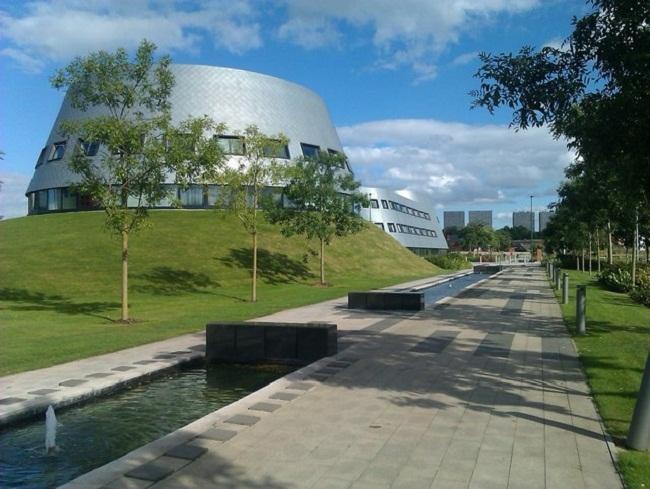Кампус Джубили Университета Ноттингема. Фото: David Martin via Geograph. Лицензия CC BY-SA 2.0