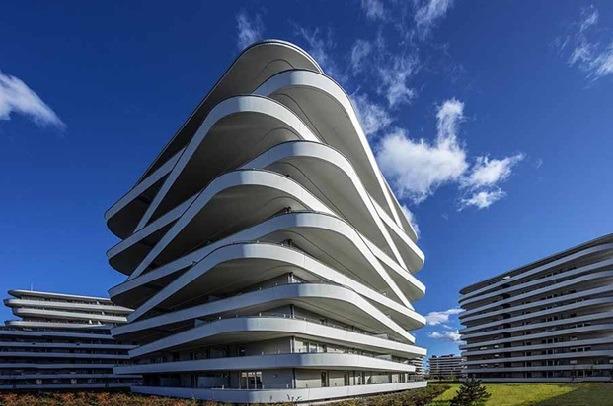 Объект в Граце (Австрия), частник архитектурного конкурса Baumit Life Challenge