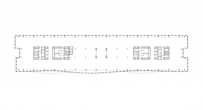 План 7 этажа. БЦ Alcon II на Ленинградском проспекте