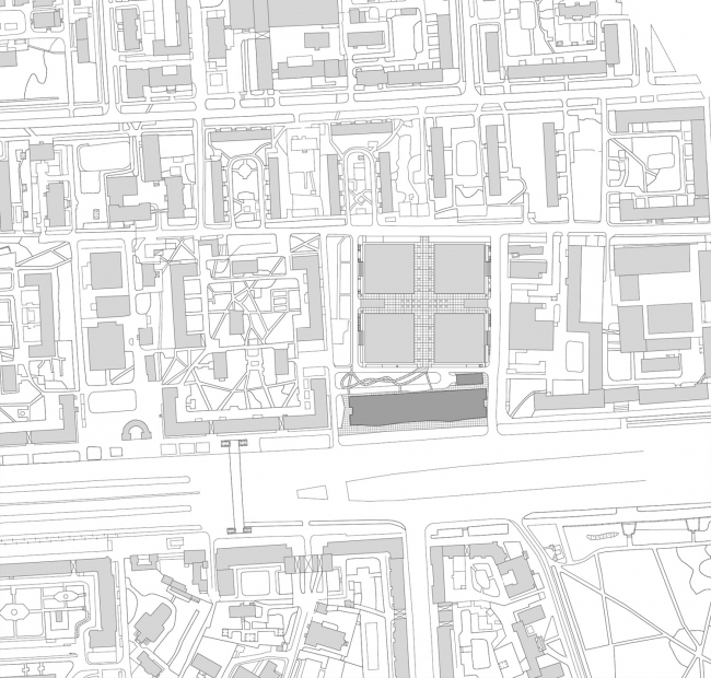 The location plan. Alcon II business center on leningrad Avenue