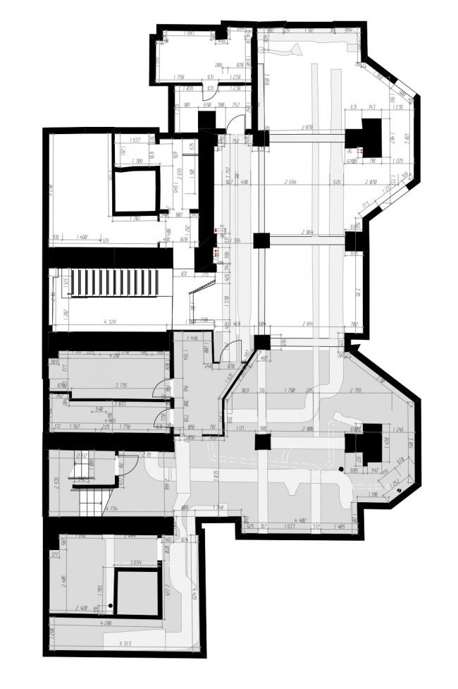 План -1 этажа. Ресторан современной мексиканской кухни tacobar